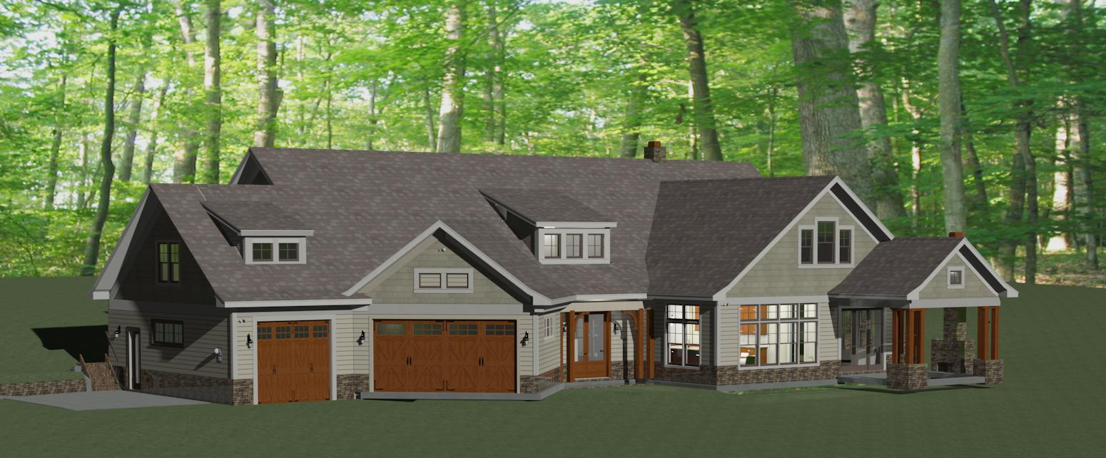 Home plans fairhaven homes for Chief architect house plans