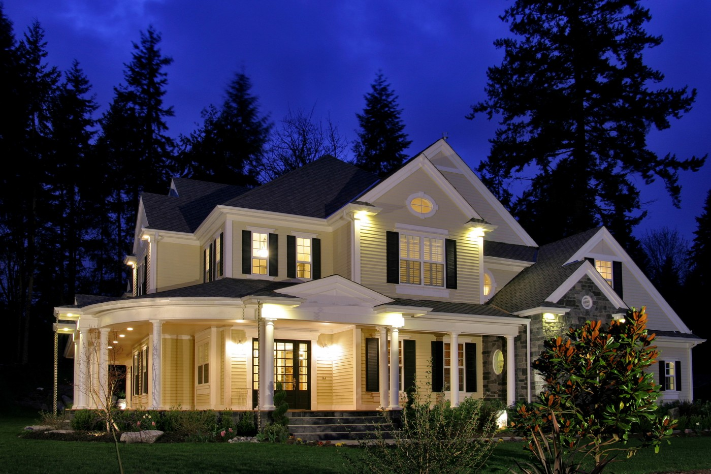 Queen anne fairhaven homes for Dream home house plans