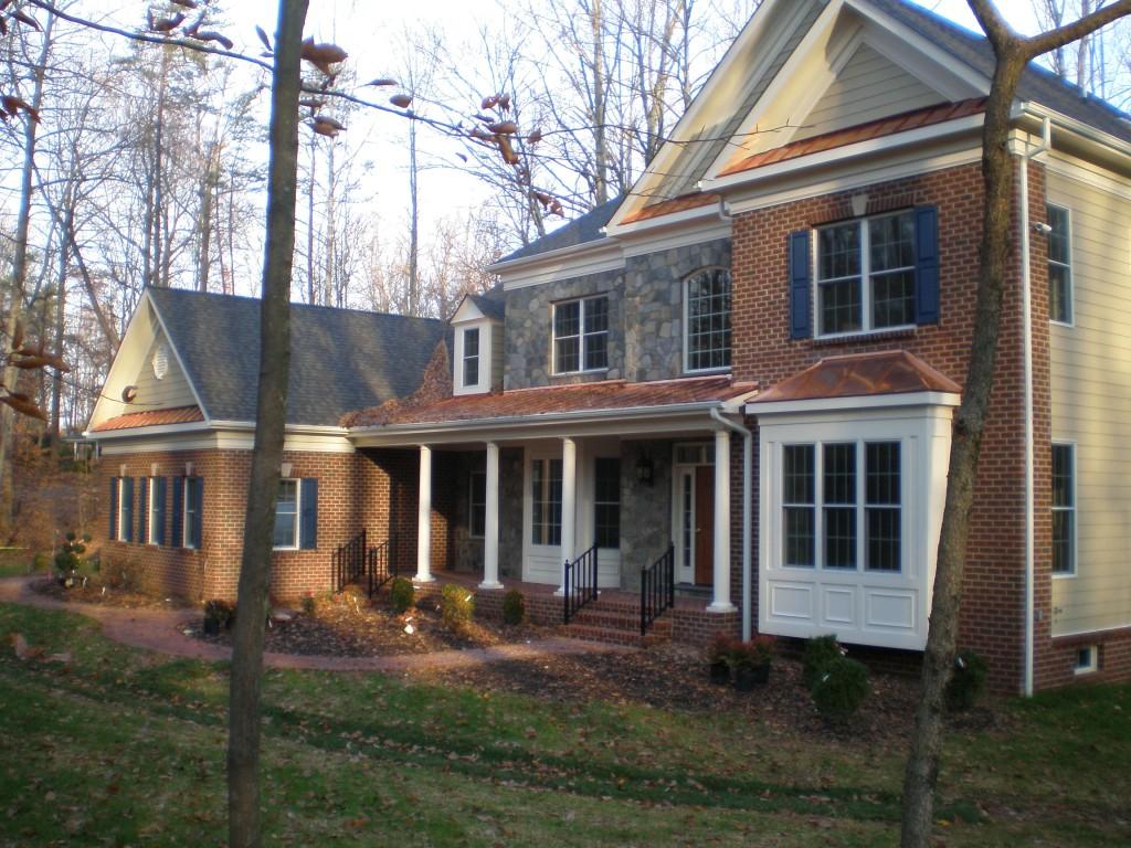 Loudoun Farmhouse Custom Home