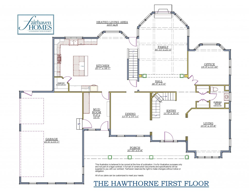 Hawthorne 1-12 1ST Floor (2)