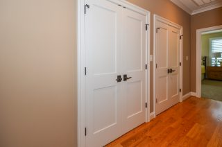 shaker-style doors with lever handles