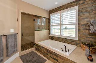 master shower and tub