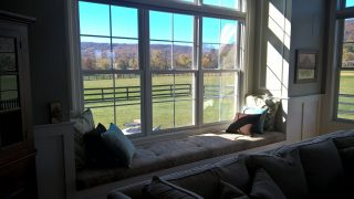 Handcrafted Window seat
