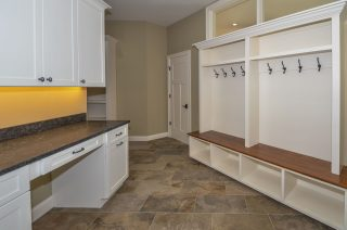 Handcrafted Mudroom Built-ins