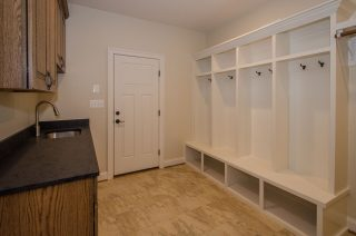 Mudroom Cubby Built-ins