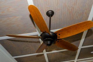 Porch fan close-up